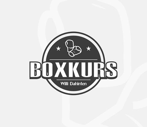 Logodesign für Boxkurs Willi D.