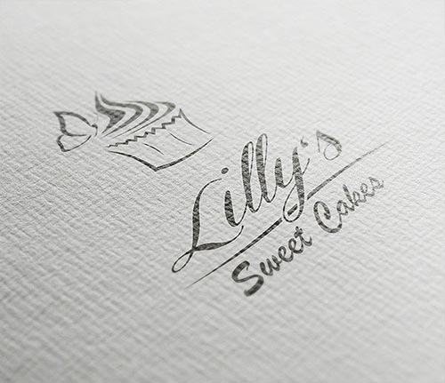 Logodesign für Lilly's Sweet Cakes